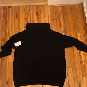 BRAND NEW Black free people turtleneck sweater
